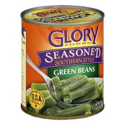 Glory Foods Seasoned Southern Style String Beans 27oz