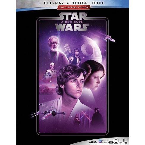 Star Wars A New Hope Blu Ray Digital Target