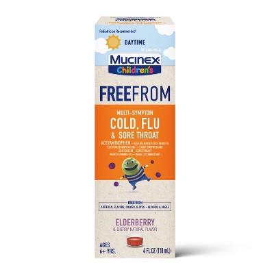 Mucinex Children's Multi-Symptom Acetaminophen Suppressant - 4 fl oz
