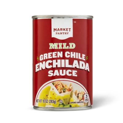 Green Enchilada Sauce Mild 10oz - Market Pantry™