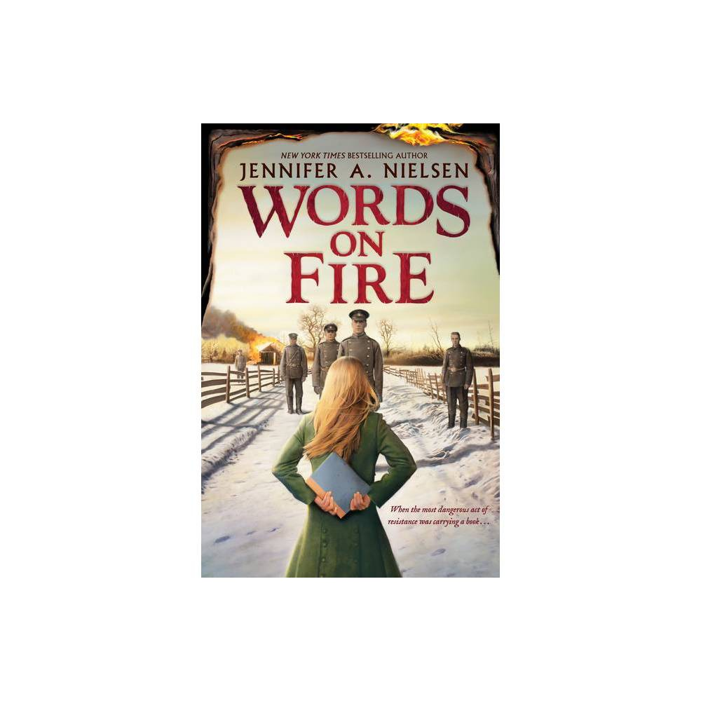 Words On Fire By Jennifer A Nielsen Hardcover