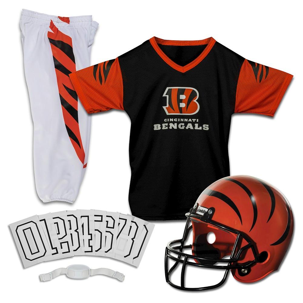 Franklin Sports NFL Cincinnati Bengals Deluxe Uniform Set, Size: Small