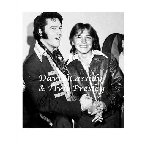 David Cassidy and Elvis Presley - by  D Paterson (Paperback) - image 1 of 1