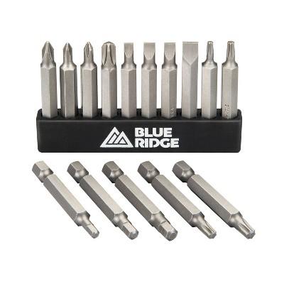 Blue Ridge Tools 15pc Multi Purpose Screwdriving Bit Set