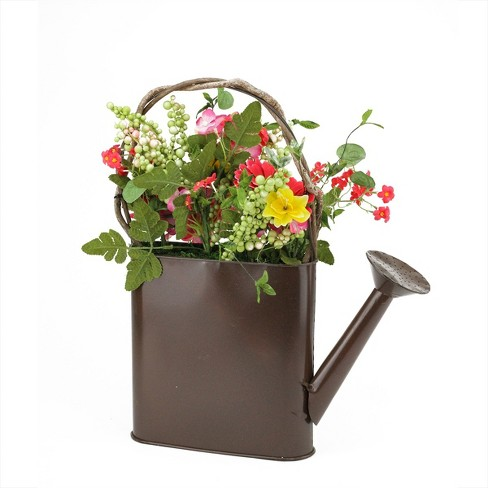 Darice 17 Brown And Yellow Gerbera Daisy Artificial Spring Floral Arrangement With Watering Can Target Buy daisies, save up to 50%! darice 17 brown and yellow gerbera daisy artificial spring floral arrangement with watering can