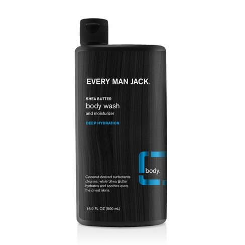 Every Man Jack Shea Butter Deep Hydration Body Wash - 16.9oz - image 1 of 1