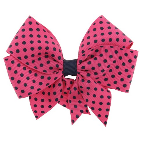 Girls' Bow Clip - Cat & Jack™ Navy One Size - image 1 of 3