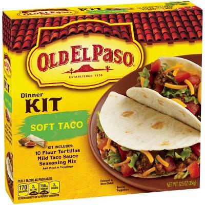 Old El Paso Soft Taco Dinner Kitc - 12.5oz