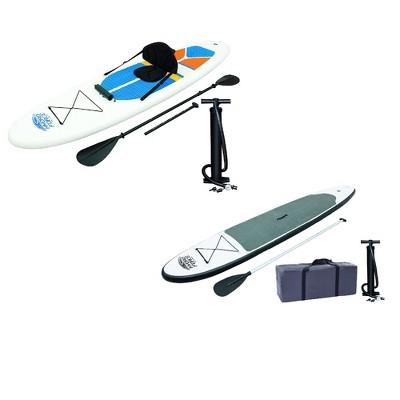 Bestway HydroForce 10' Inflatable Paddle Board/Kayak & WaveEdge 10' Paddle Board