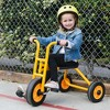 RABO powered by ECR4Kids Trike, Premium Toddler Tricycle for Kids (Yellow/Black) - image 2 of 4