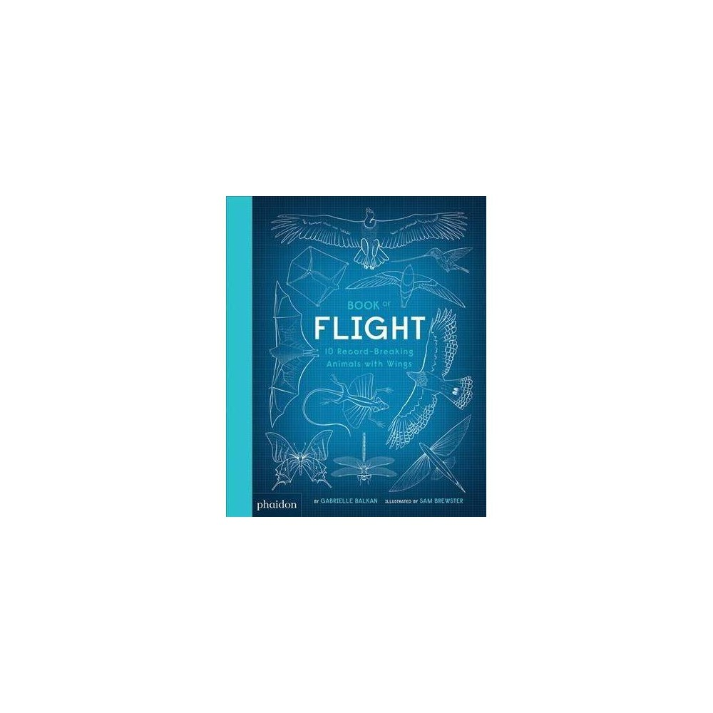 Book of Flight : 10 Record-Breaking Animals With Wings - by Gabrielle Balkan (Hardcover)