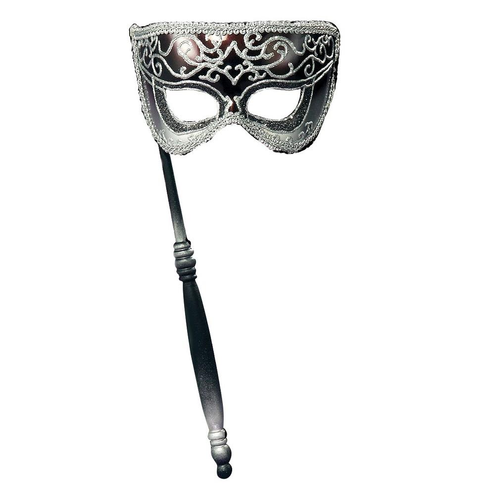 Venetian Mask Silver, Adult Unisex, Multi-Colored