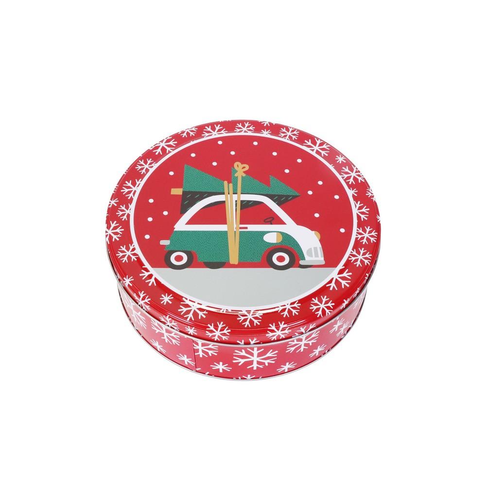 Toymaker Station Wagon Medium Round Cookie Tin - Wondershop, Multi-Colored
