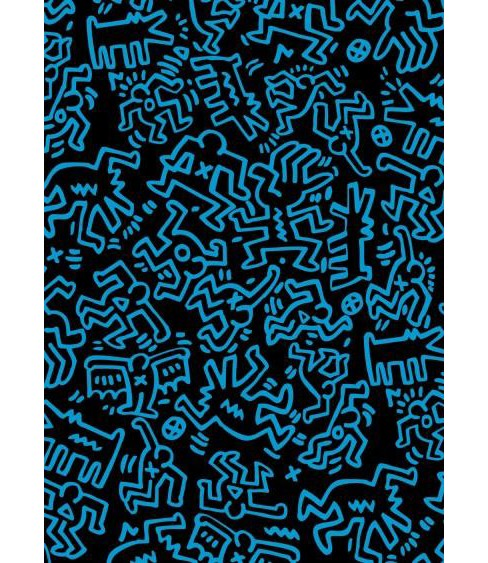 Keith Haring Colored Edge Journal (Hardcover) - image 1 of 1