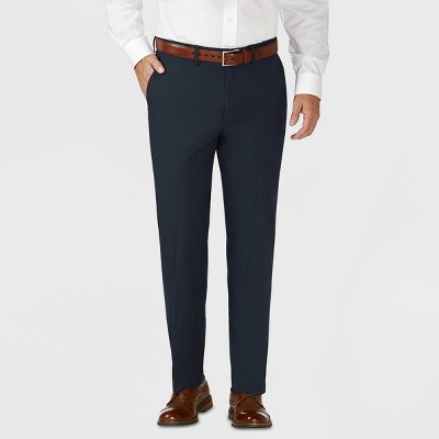 Haggar H26 Men's Tailored Fit Premium Stretch Suit Pants
