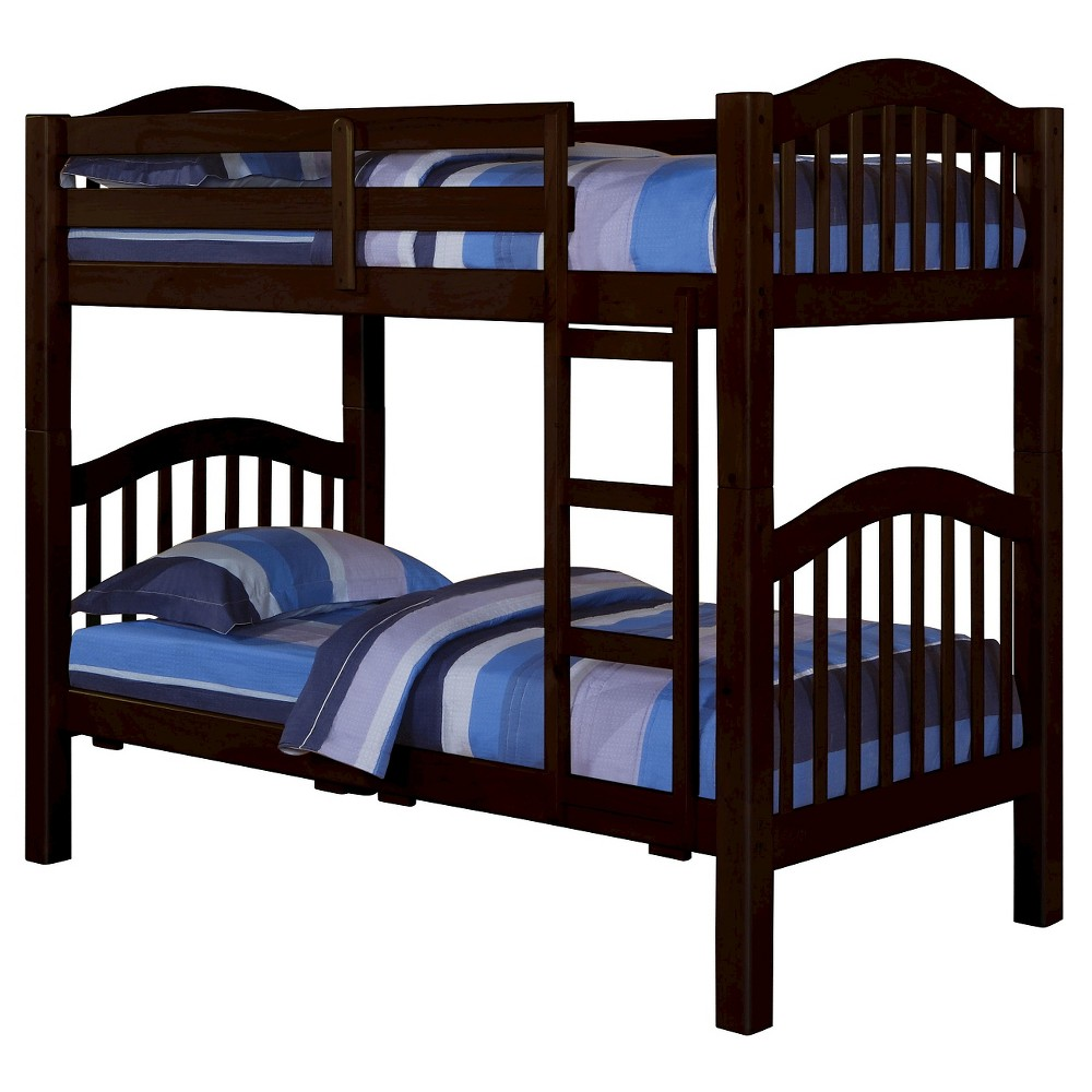Awesome Heartland Kids Bunk Bed Espresso Browntwintwin Acme Pdpeps Interior Chair Design Pdpepsorg
