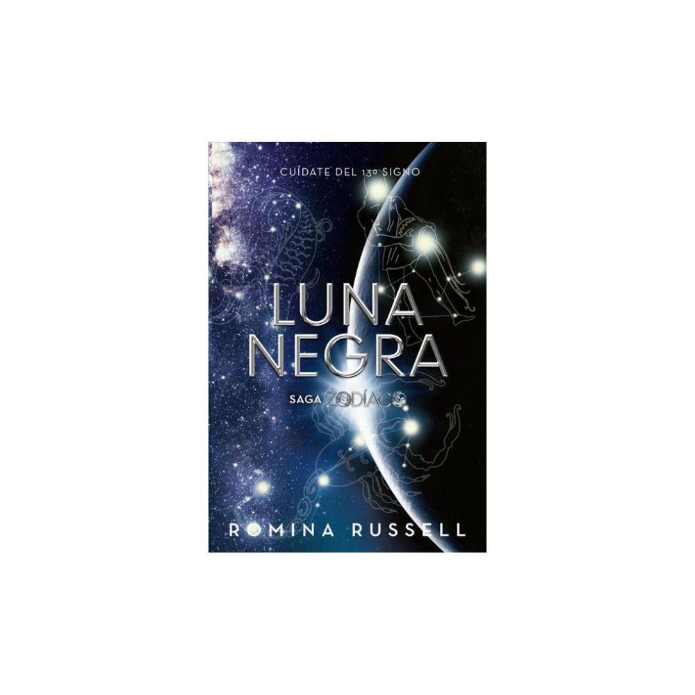 Luna negra - (Zodíaco) by Romina Russell (Paperback)