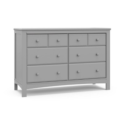 Graco Benton 6 Drawer Dresser - Pebble Gray