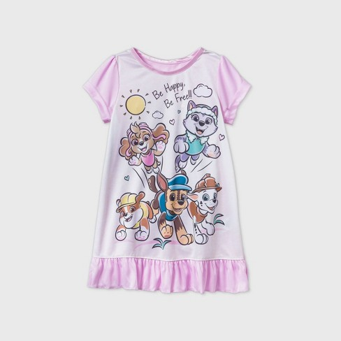 Toddler Girls' PAW Patrol Nightgown - Pink - image 1 of 1