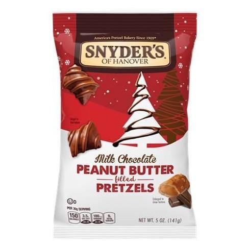 Snyder's of Hanover Milk Chocolate Peanut Butter Pretzels - 5oz - image 1 of 1