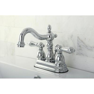Heritage Bathroom Faucet Chrome - Kingston Brass, Grey