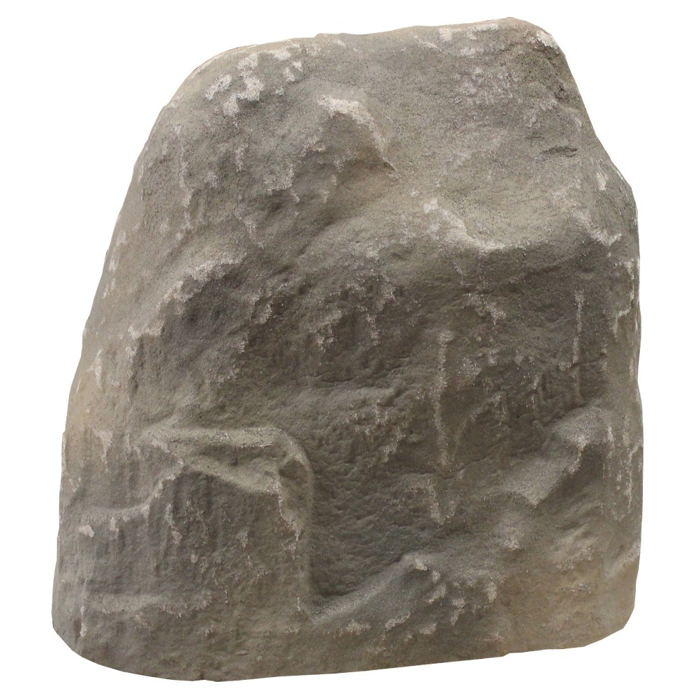 """Image of """"14"""""""" Textured Painted Garden Stone - Gray - Emsco"""""""