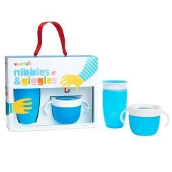 Munchkin Nibbles & Giggles Baby Feeding Gift Set