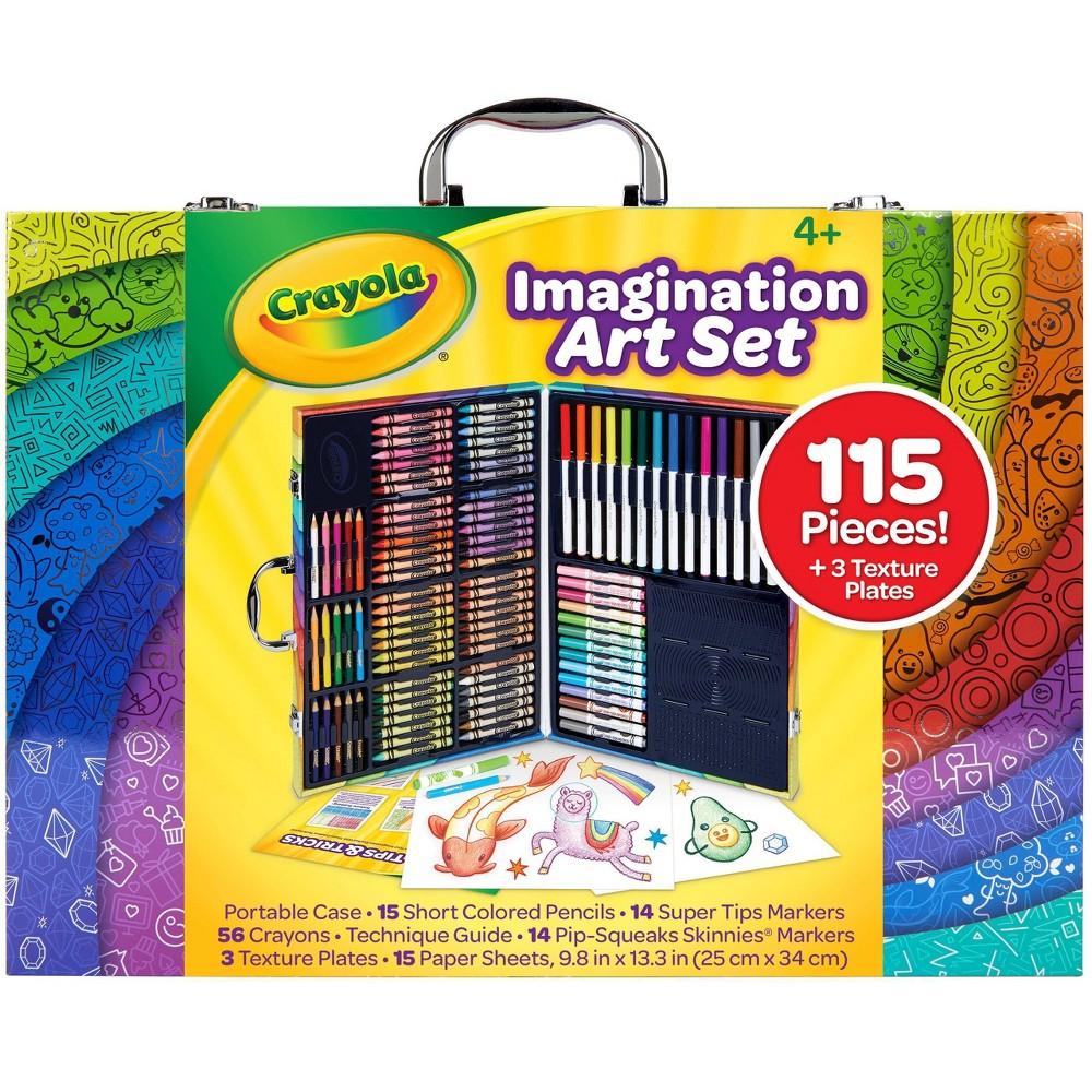 Promos Crayola 115pc Imagination Art Set with Case
