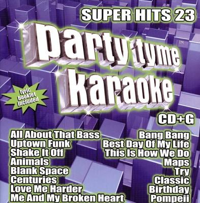 Party Tyme Karaoke: Super Hits 23 (CD)