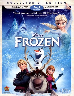 Frozen (2 Discs)(Includes Digital Copy)(Blu-ray/DVD)(W)(Widescreen)