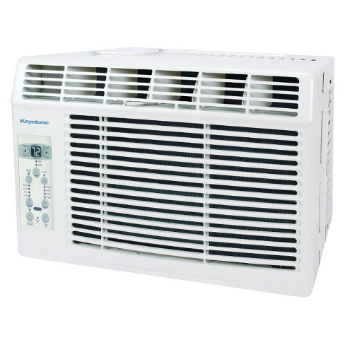 Keystone - 5000BTU Air Conditioner with Remote Control - White - image 1 of 3