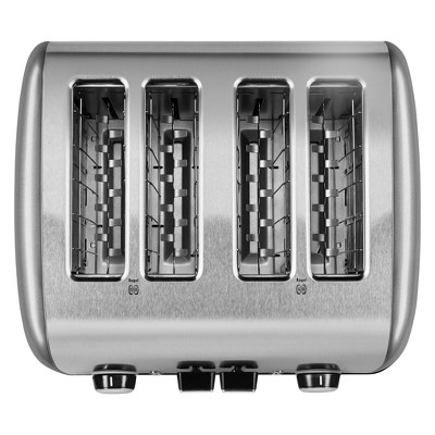 KitchenAid 4-Slice Toaster - KMT4115, Silver