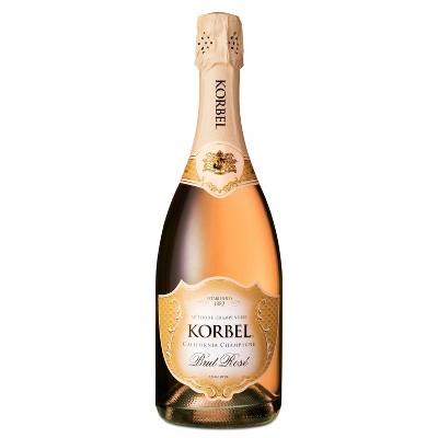Korbel Brut Rosé Champagne - 750ml Bottle