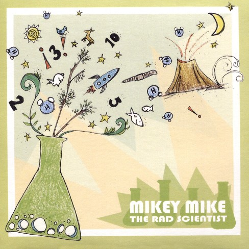 Mikey mike the rad s - Mikey mike the rad scientist (CD) - image 1 of 1