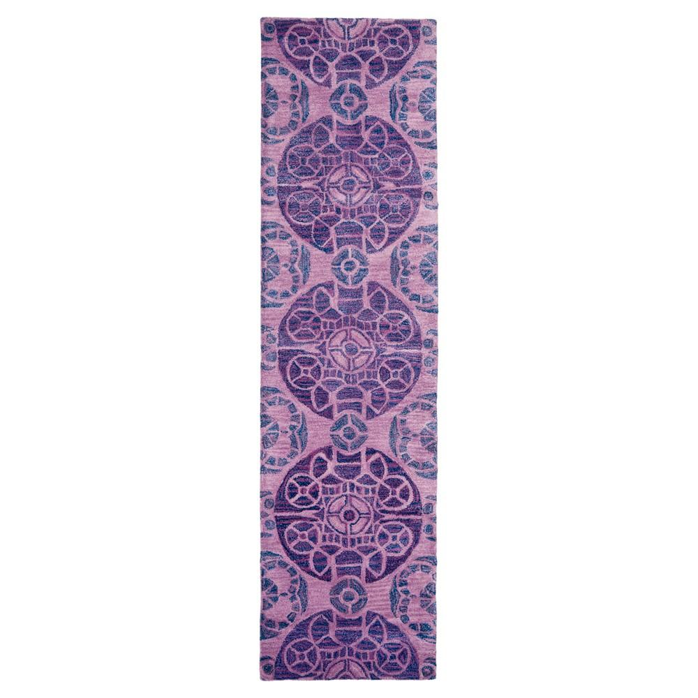 Jermayne Area Rug - Purple (2'3x9') - Safavieh