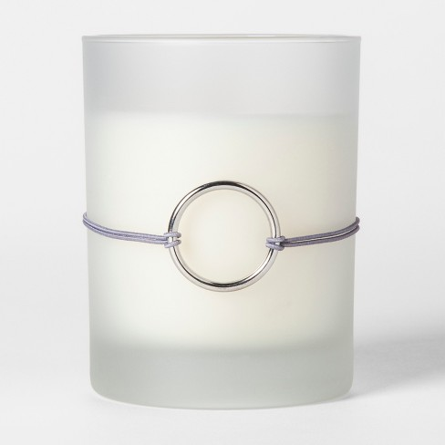 Frosted Charm Glass Candle Vanilla Lavender 9oz - image 1 of 2