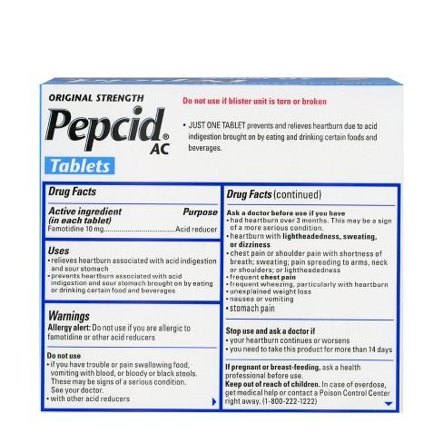 Pepcid AC Acid Reducer Tablets - 30ct