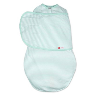 Embe 2-Way Swaddle Classic - Mint Stripe