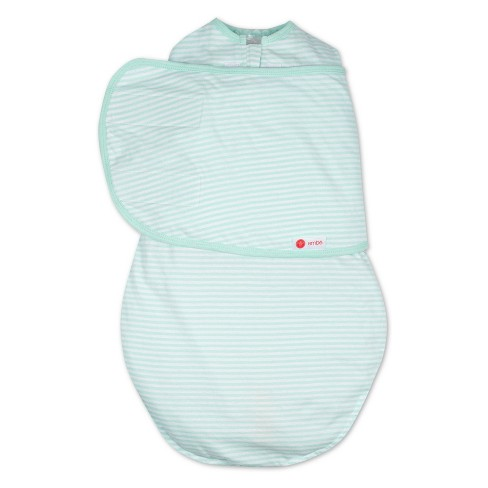 Embe 2-Way Swaddle Classic - Mint Stripe - image 1 of 5