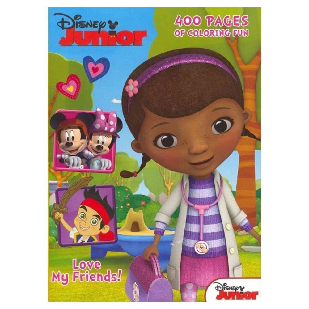 Disney Junior 400 Pages of Coloring Fun (Paperback)