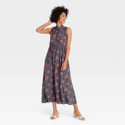 Women's Sleeveless Cinched Waist Dress - A New Day™