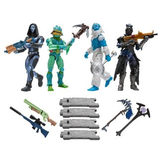 Fortnite Squad Mode 4 Figure Pack, Series 2
