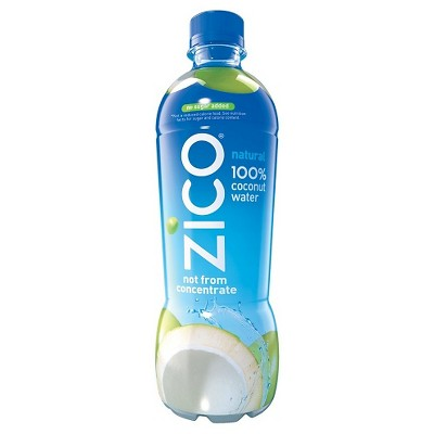 ZICO Natural 100% Coconut Water - 16.9 fl oz Bottle