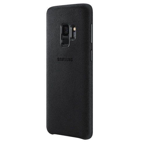 watch 4e393 ab561 Samsung Galaxy S9 Case Alcantara - Black
