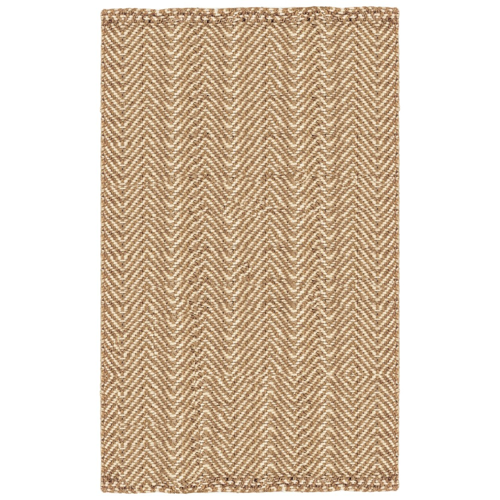 3X5 Solid Woven Accent Rug Natural - Liora Manne Best