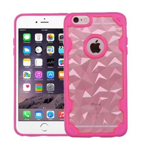 MYBAT For Apple iPhone 6 Plus/6s Plus Rose Gold Hot Pink Hard TPU Case - image 1 of 1