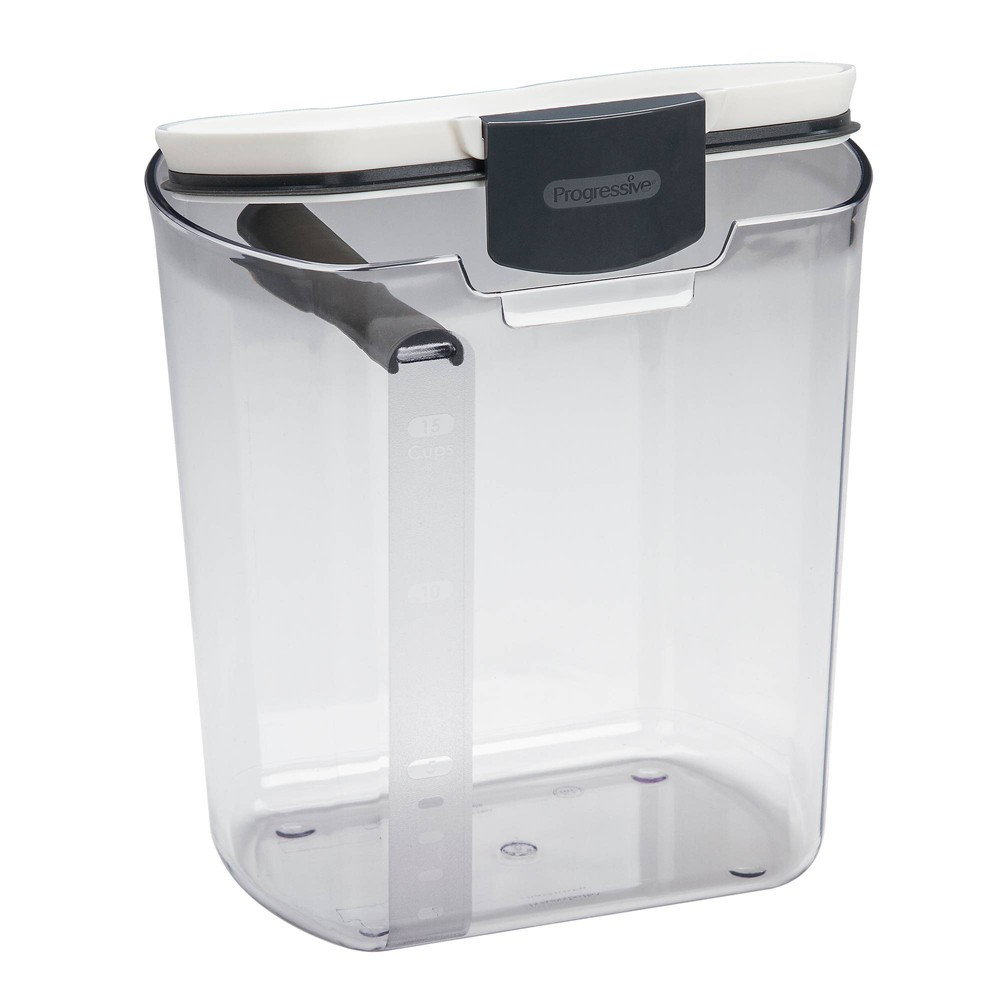 Image of Prepworks 4qt Prokeeper Flour Container, Clear