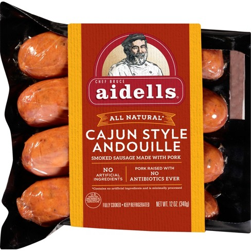 Aidells Cajun Andouille Smoked Sausage - 4ct/12oz - image 1 of 2