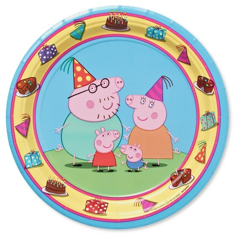 "Peppa Pig 7"" Paper Plates - 8ct - image 1 of 1"