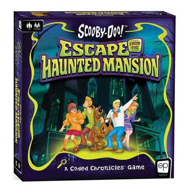 Coded Chronicles: Scooby Doo Escape From The Haunted Mansion Board Game